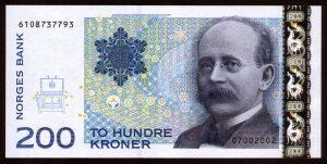 gällande norska sedlar