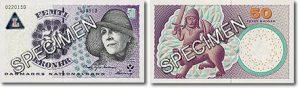 gamla danska sedlar värde